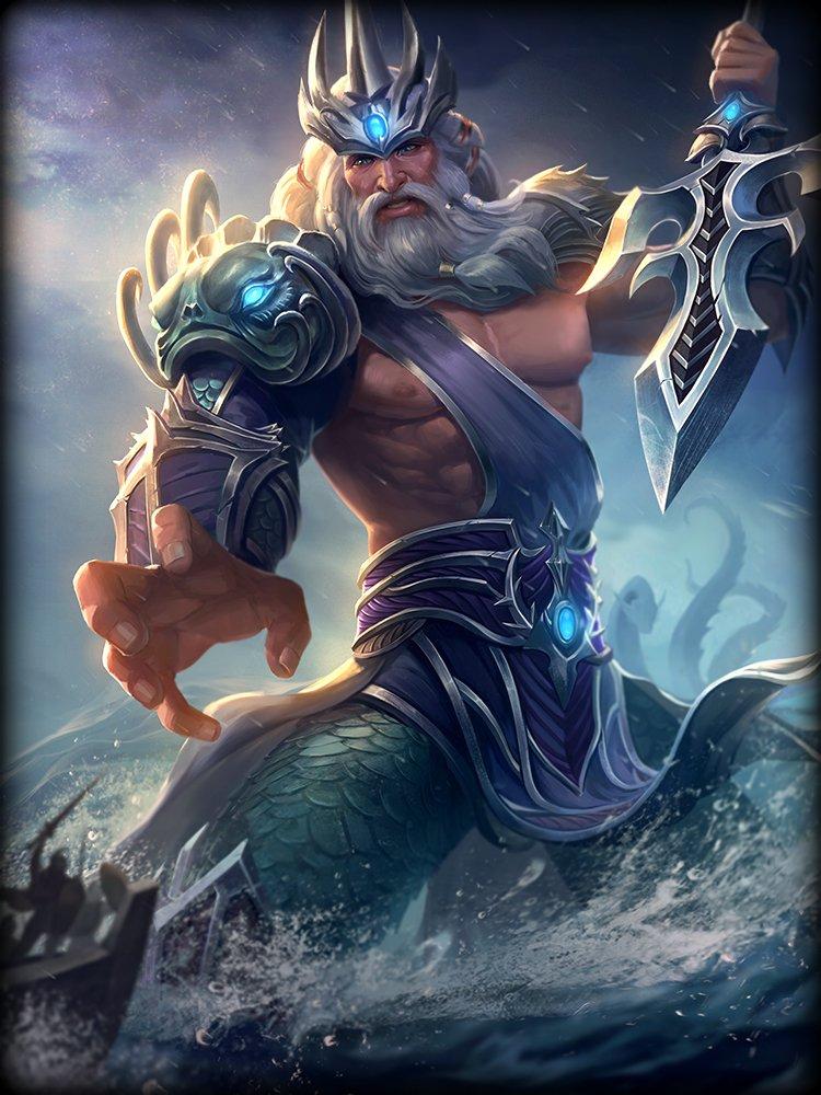 Actualización visual de Poseidón