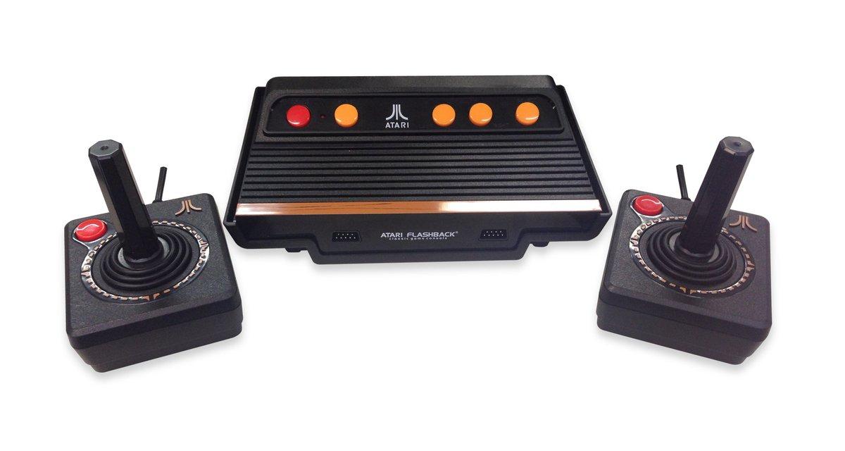 Tectoy relança Atari 2600 no Brasil com cem jogos na memória » https://t.co/yd0bzsmhG7