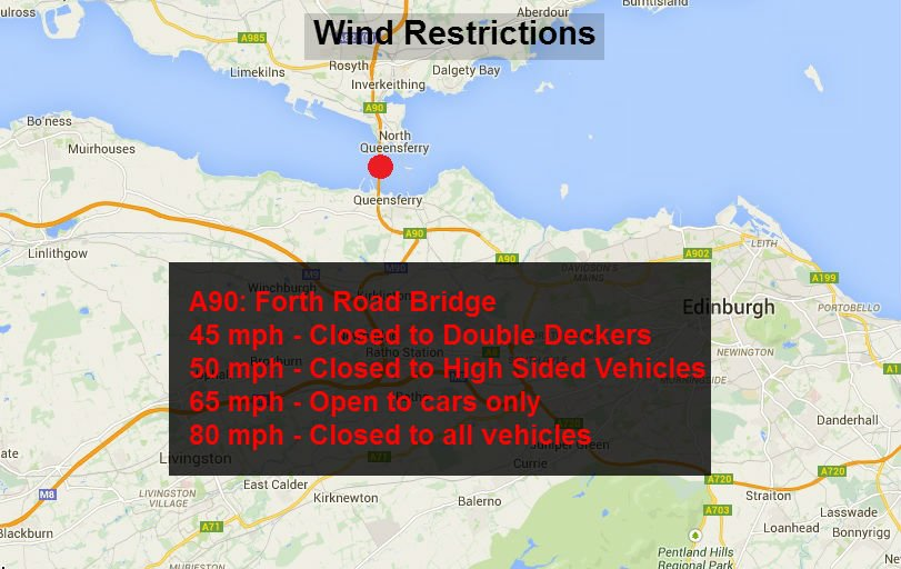 test Twitter Media - *UPDATE* ⚠ 💨 at 20:24  @forthroadbridge wind warning still in place. ALL vehicles are allowed to cross 🚚 🚗  #edintravel @SETrunkRoads https://t.co/rNQxIzAZzN