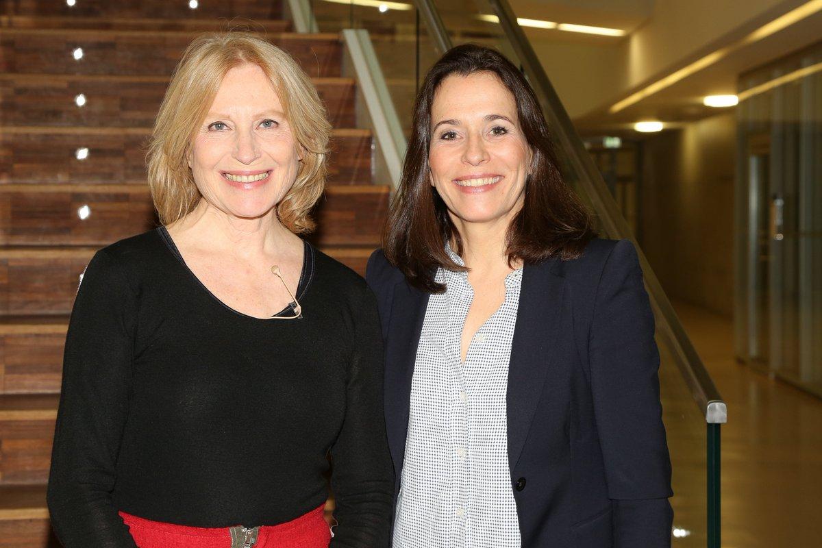 Photo of Maren Kroymann  & her friend