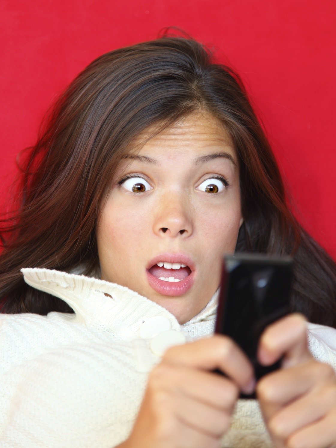 Image result for surprised on the phone