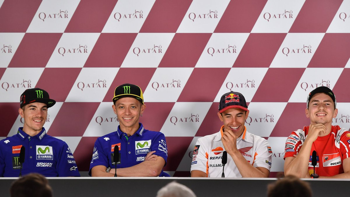 #QatarGP: The lowdown from the Press Conference  VIDEO 🎥 https://t.co/...