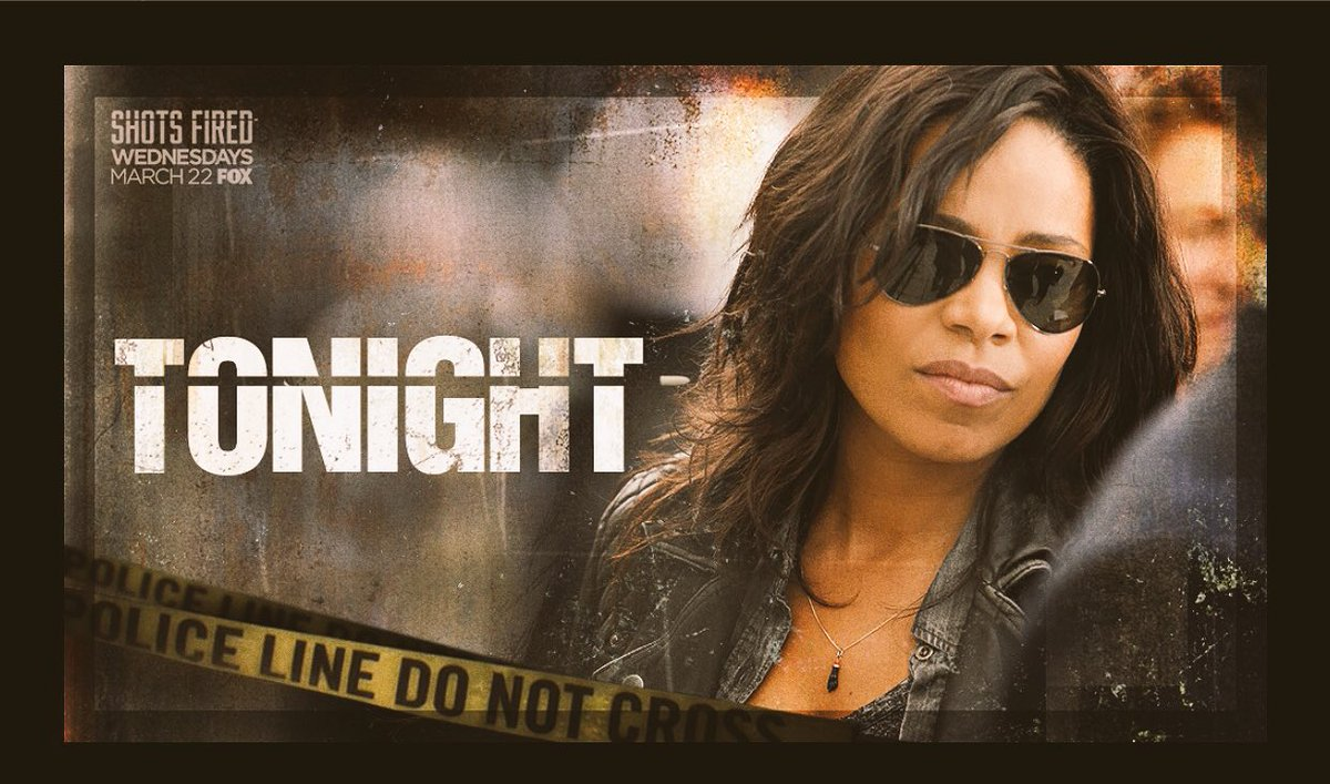 Tune in tonight 8/7c on @foxtv. I'll be live tweeting. #shotsfired 💥 h...