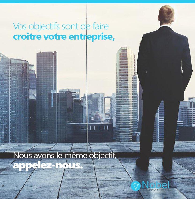 Vos objectifs sont de faire croître votre ... - ##love #Business #Followforfollow #L4l #Objectif #Siteinternet -  http://www. agencenobel.ca/dernieres-actu alites-web/vos-objectifs-sont-de-faire-croitre-votre-entreprise/ &nbsp; … <br>http://pic.twitter.com/dlbQPrsjlb