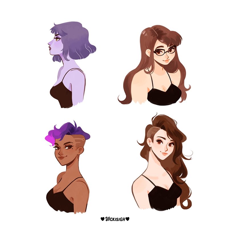 @vickisigh so what if...more overwatch hair swaps? 👀👌✂️ https://t.co/9...