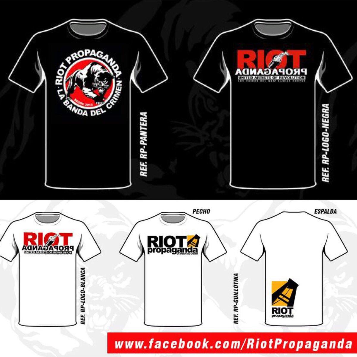 Riot Propaganda On Twitter Nuevas Camisetas En Los Conciertos Y