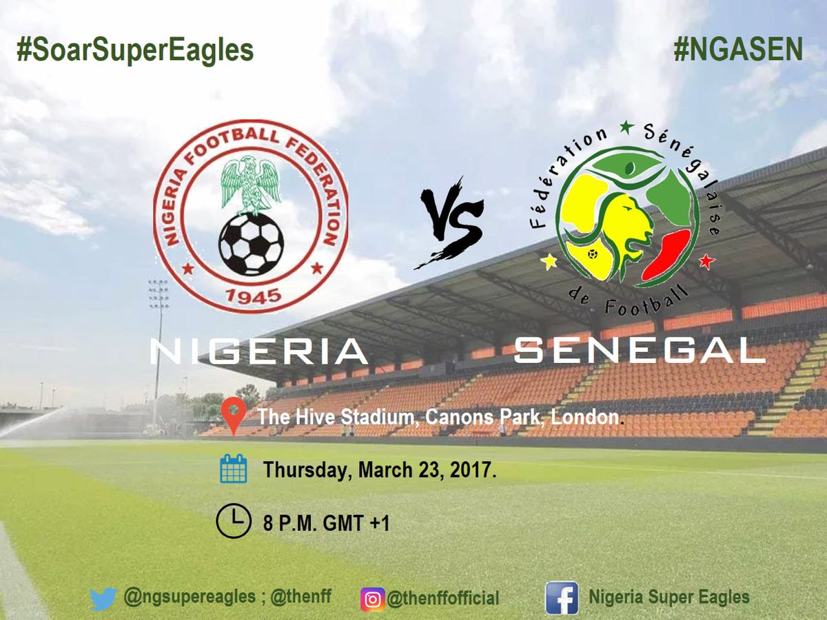 Buzzing for the Super Eagles of Nigeria 🇳🇬 to soar above the Teranga l...
