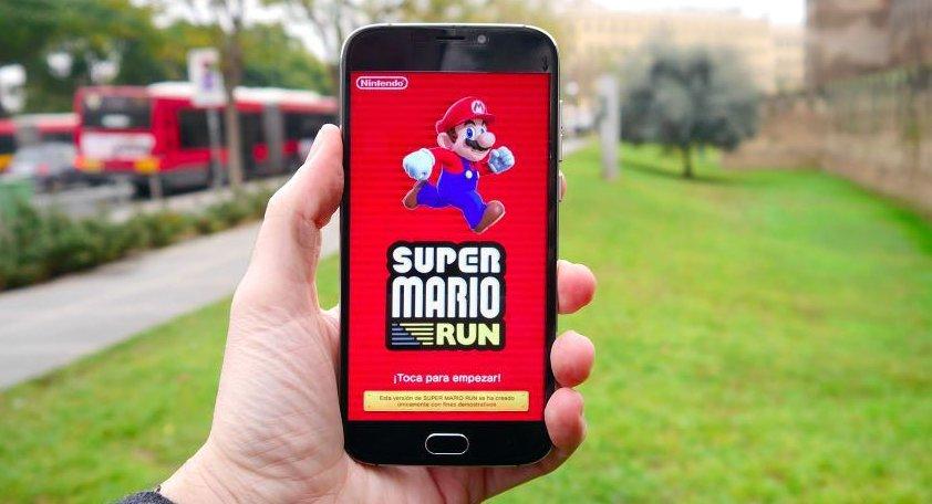 Super Mario Run llega a Android: descarga ya el último juego de Ninten...