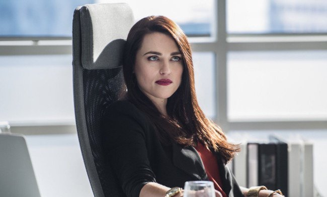 Lena Luthor, aka Katie McGrath, will become a #Supergirl series regula...