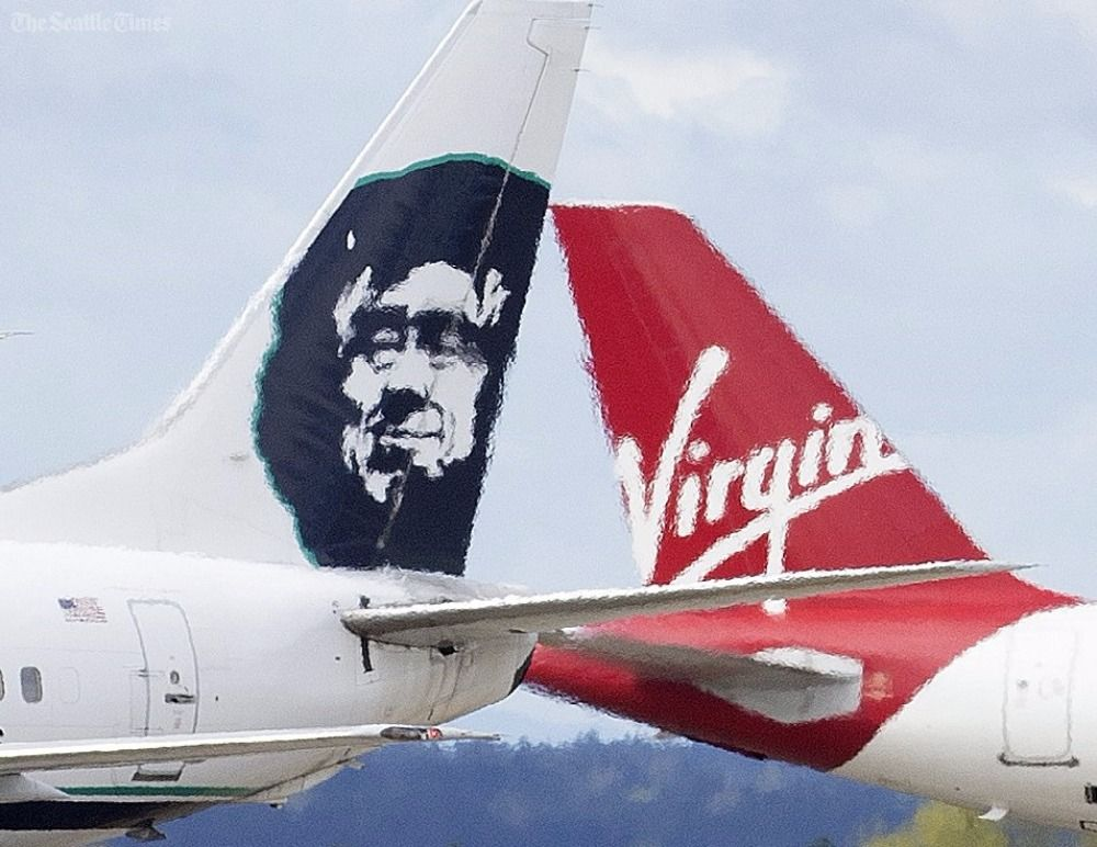 Alaska Airlines plans to drop the Virgin America name and logo: https:...