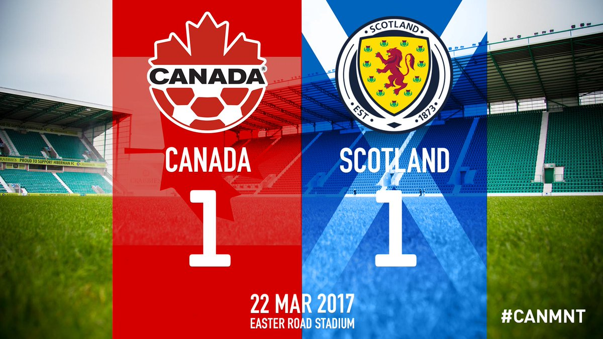 Final result #CANMNT #CanadaRED https://t.co/bYhuHiRCJt