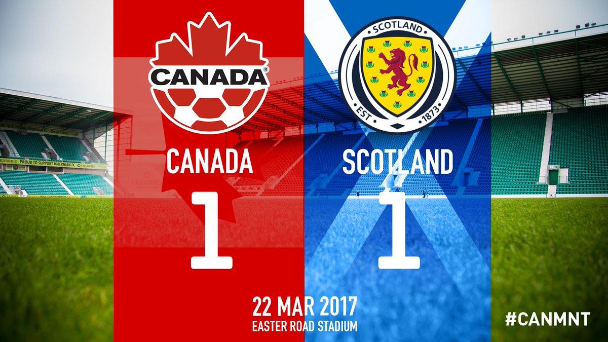 Score final #CANMNT #CanadaRED https://t.co/yrApqrZVtd