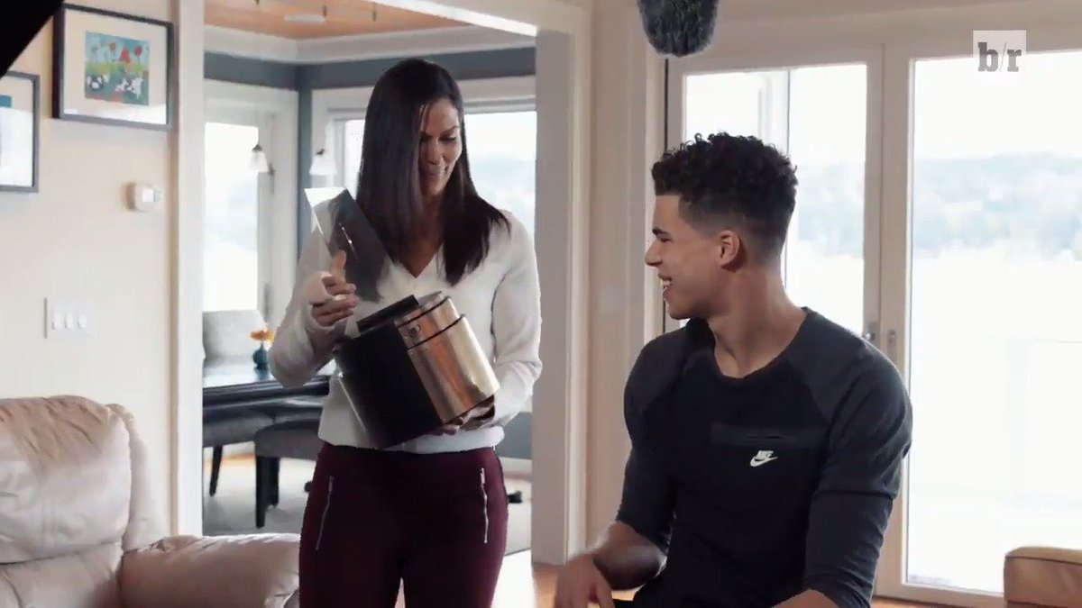 .@Gatorade surprises Michael Porter Jr. with the National Boys Basketb...