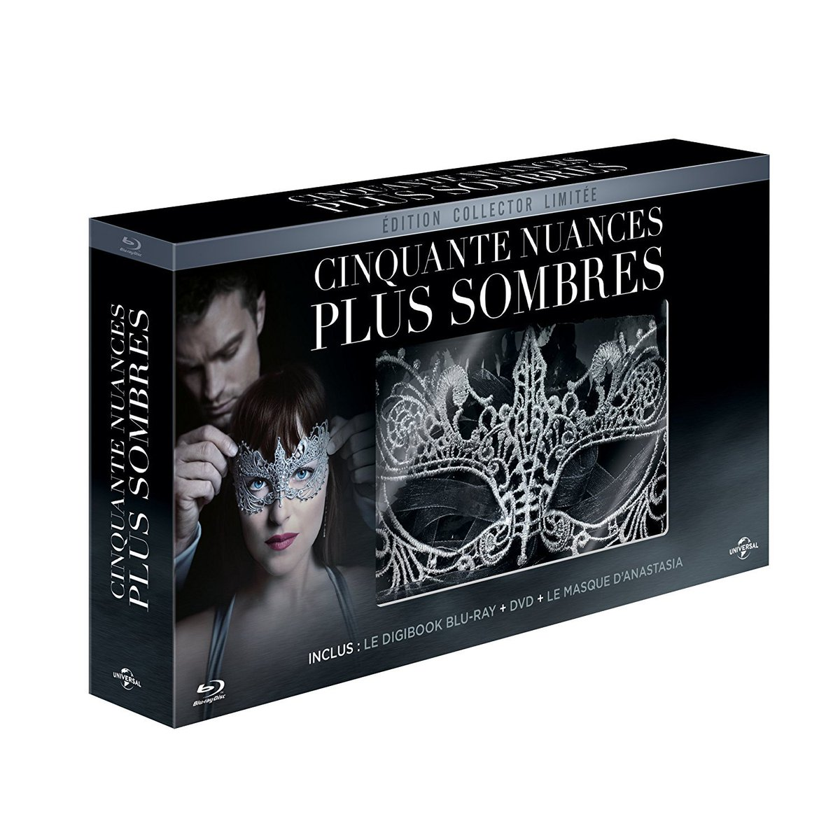 French edition #FiftyShadesDarker [Édition collector limitée - Digiboo...