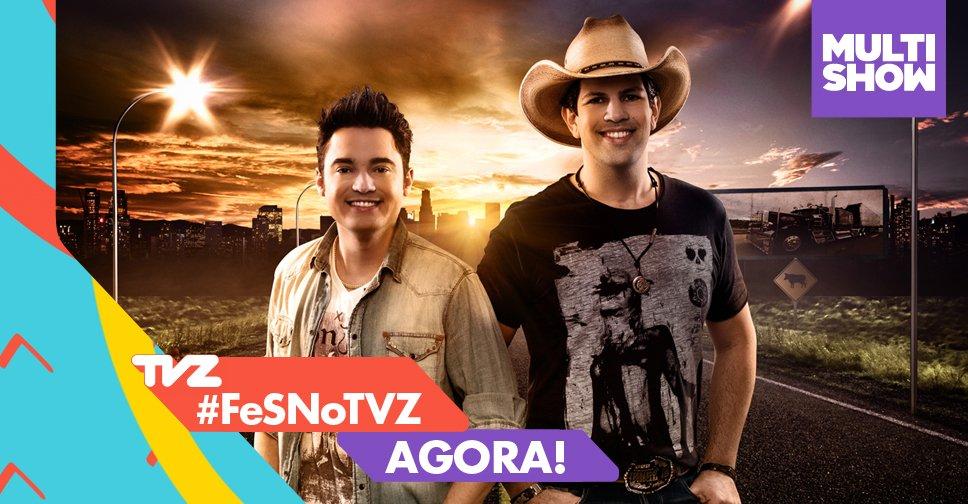 #FeSNoTVZ começou AO VIVO! 'Simbora', meu povo! https://t.co/Dld35hdBq...