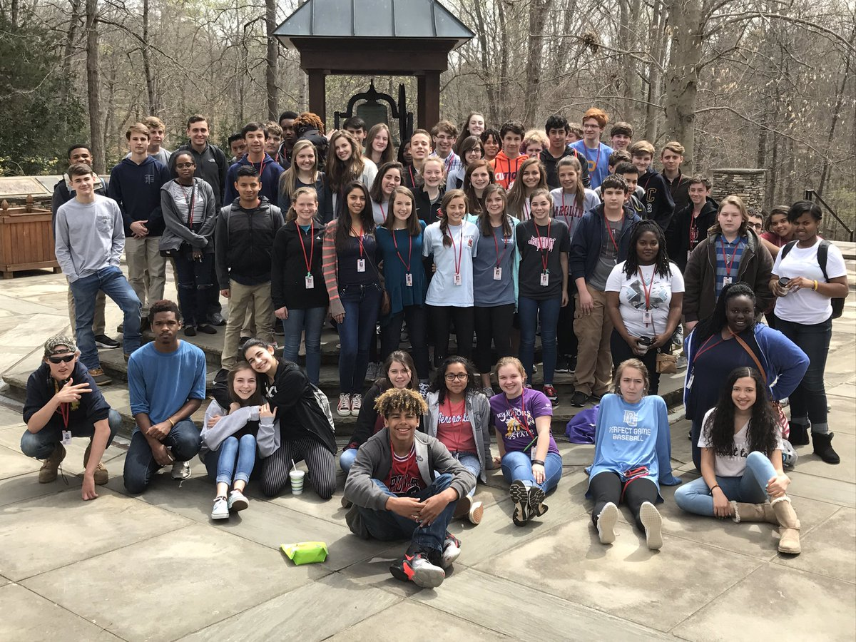 Freshman biology classes had a great trip to Clemson University today....