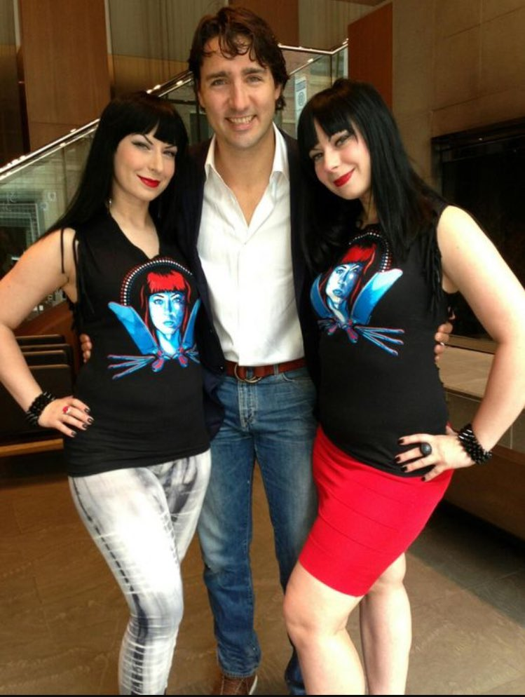 'I know the @twisted_twins' 😉 #JustinTrudeauPickUpLines https://t.co/B...