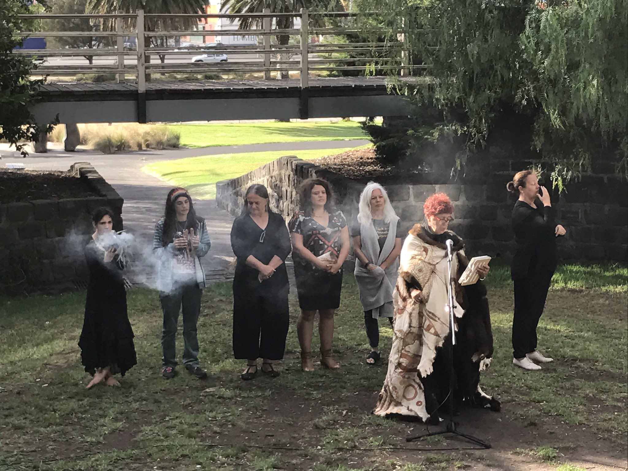 And we're off... #WoWMelb @Footscrayarts https://t.co/VdSva5DO3p