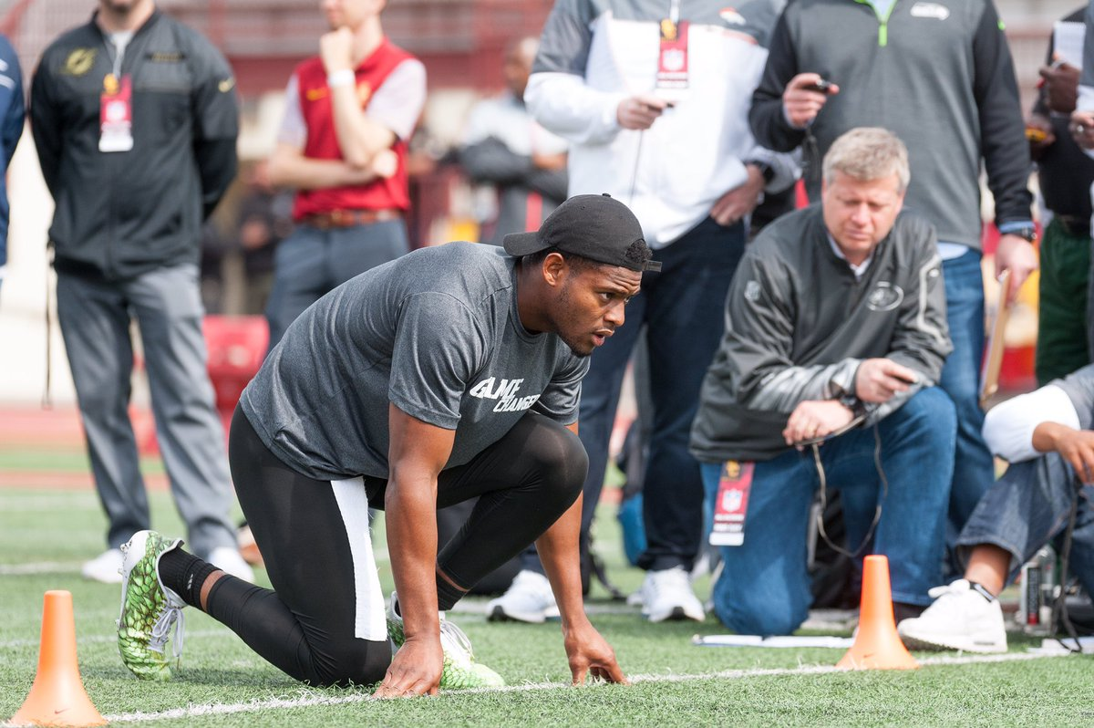Felt great being back home for Pro Day, another step of the process #I...