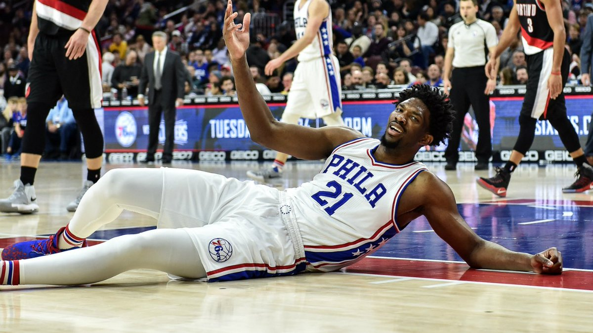 It's now official: Joel Embiid will undergo surgery on his torn menisc...