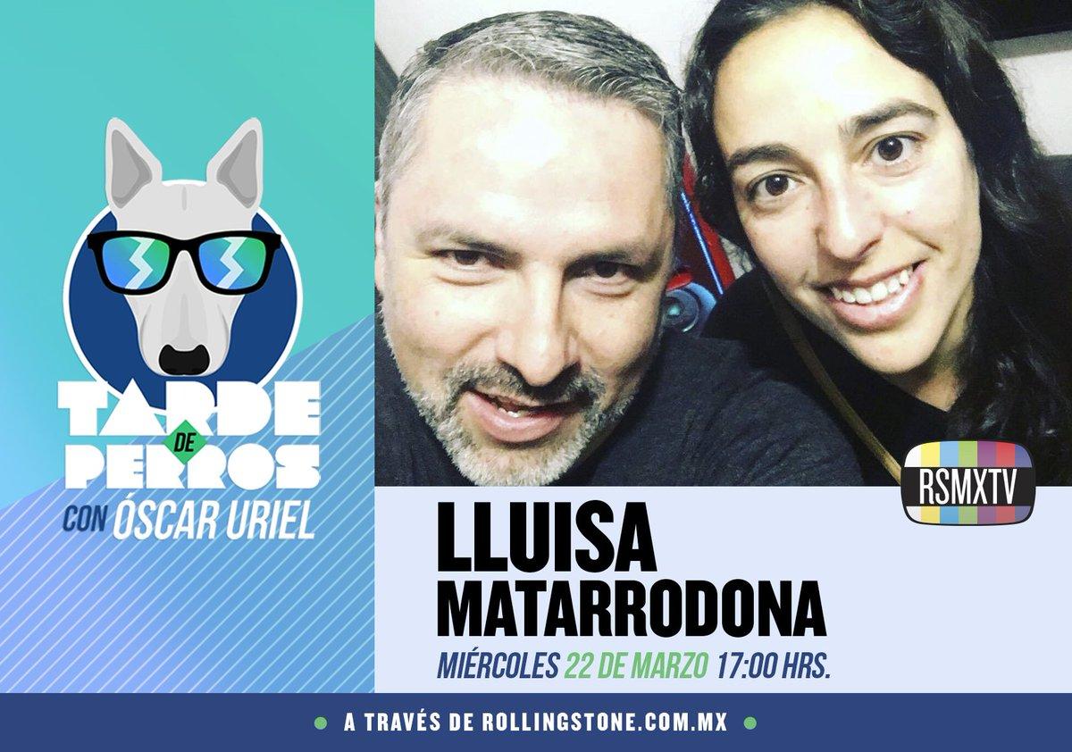 Sintoniza el nuevo episodio de Tarde de Perros con @oscaruriel. @LluMa...
