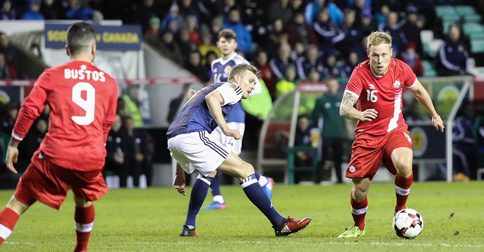 """Scott Arfield: """"The mental side of the game is coming and we are start..."""