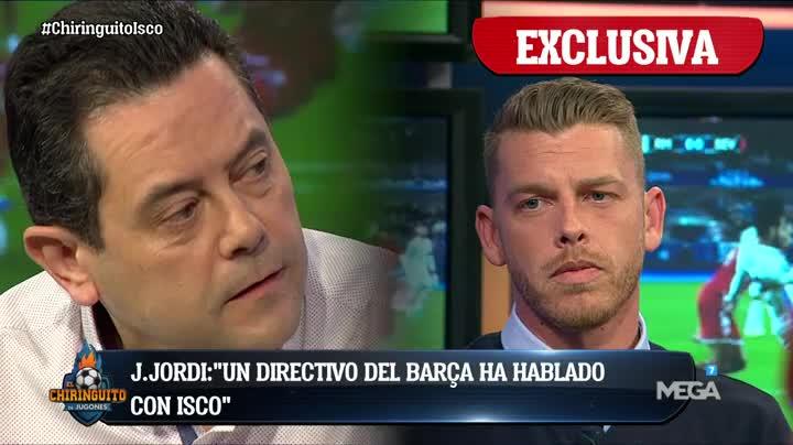 .@As_TomasRoncero: 'Si Isco SE QUIERE IR al Barça, que NO JUEGUE NI UN...
