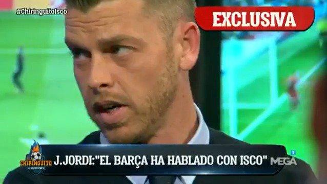 ¡EXCLUSIVA de @jotajordi13! 'El Barça HA HABLADO con Isco' ¡VENTE YA A...