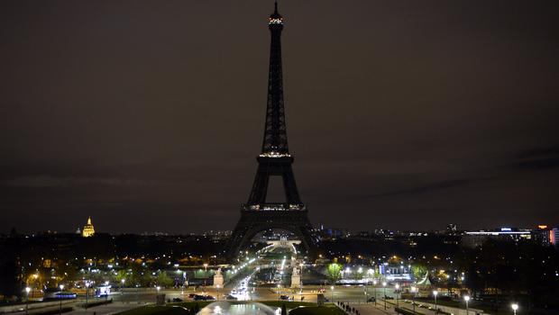 The Eiffel Tower is going dark at midnight in Paris for London's terro...