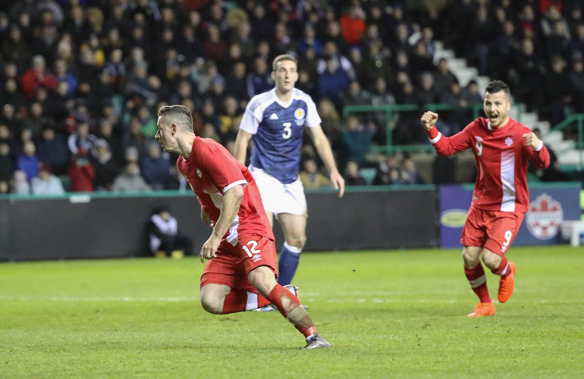 HIGHLIGHTS: Fraser Aird scores in Canada's 1:1 away draw at Scotland...