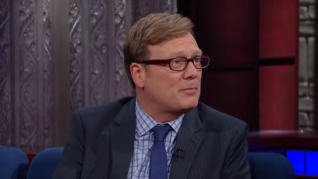 Andy Daly edited #Review's sex tape episode while other coffee shop pa...