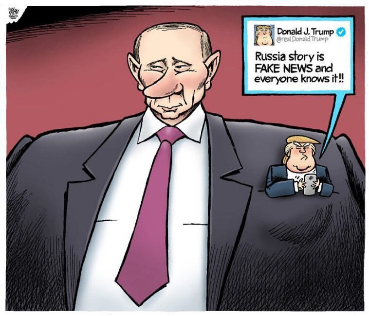 'Putin and Trump' is an #editorial cartoon by Theo Moudakis. https://t...