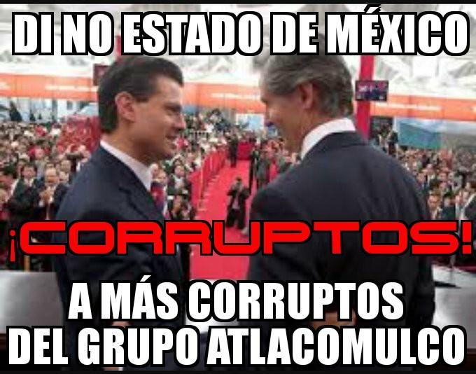 #LoQueEsperoDeHoyEs que no apoyes Edomex a más corrupto del grupo atla...