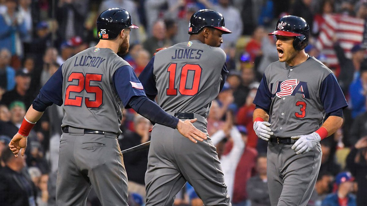 THIS JUST IN: USA dominates Puerto Rico 8-0 to win World Baseball Clas...