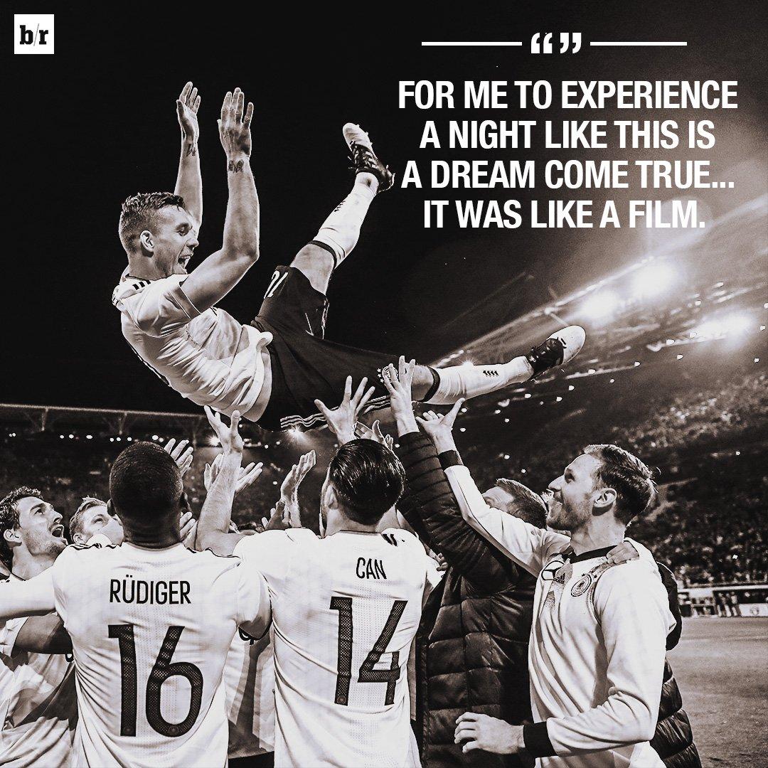 Lukas Podolski lived out his own 🎥 https://t.co/9UqhUByIHE