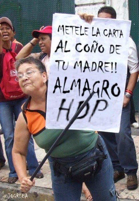 ALMAGRO TE MANDA A DECIR MI ABUELA #ALMAGROFUERADEMIPATRIA @ConElMazoD...