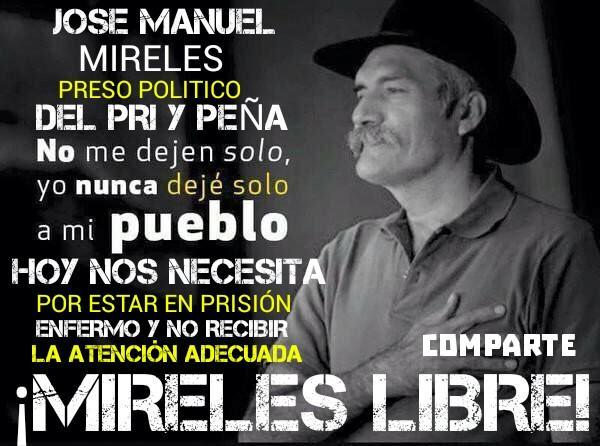No dejemos solo a Mireles, una víctima + de @epn ¡Mireles Libre! #UnSh...