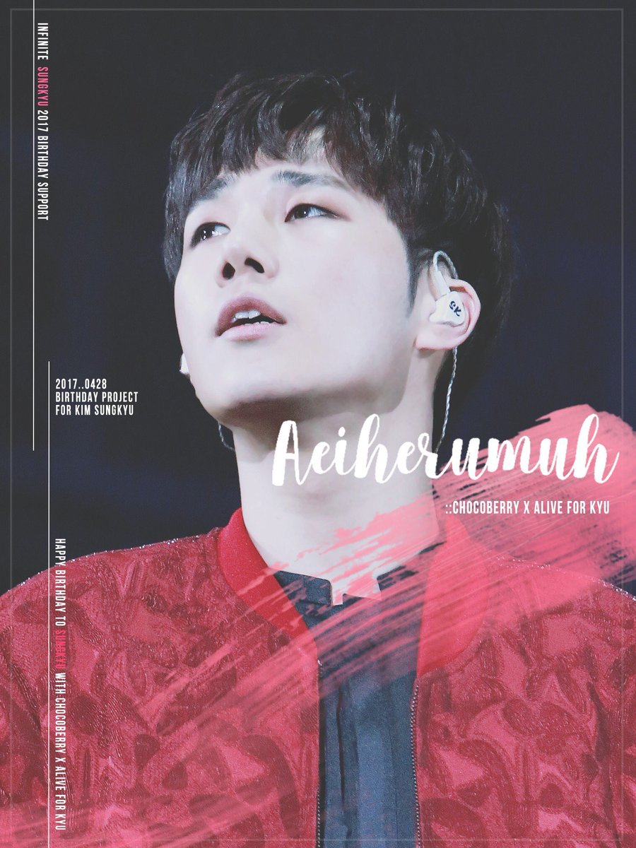 [INA GO] #INFINITE #Sungkyu 29th Bday by @alive0428 @chocoberry0428   Rp 285,000   Details  http:// instagram.com/p/BR72JHHj4Mj/  &nbsp;  <br>http://pic.twitter.com/IIt51VGgyh