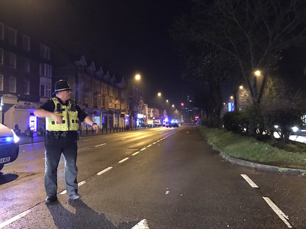Hagley Road has REOPENED following a police operation involving armed...