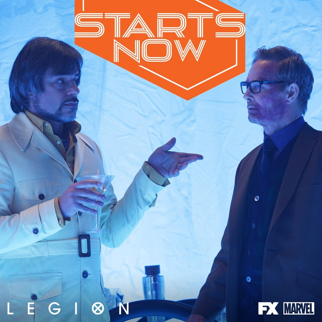 Grab your martini and get ready to be shaken. #LegionFX starts now. ht...
