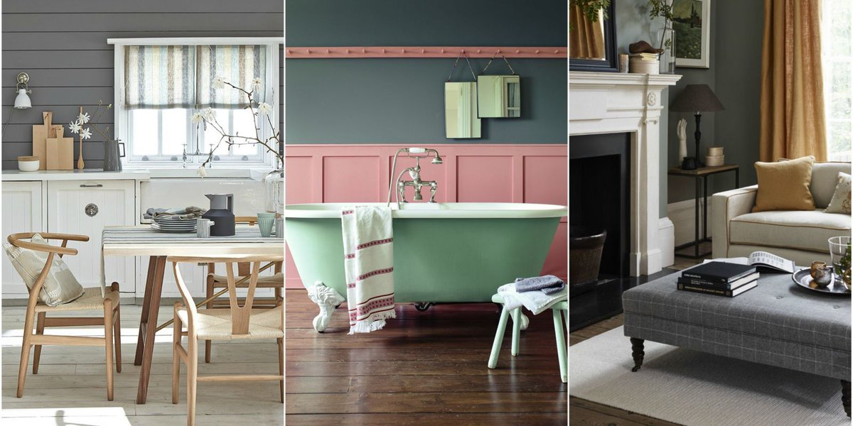 8 grey colour scheme ideas from an interior stylist https://t.co/pBoLB...