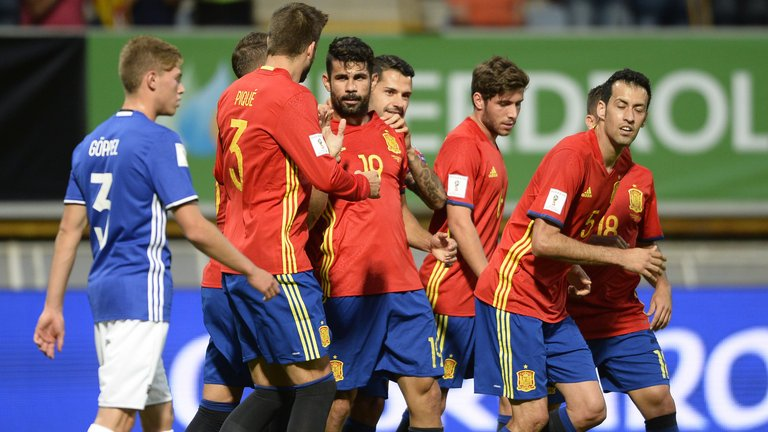 Image result for Spanyol team 2017