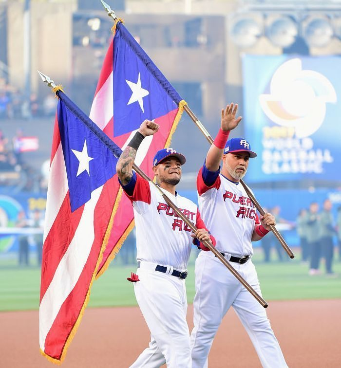 Yadier Molina y Carlos Beltrán #OrgulloBoricua #WBCXESPN ⚾💪🔥 https://t...