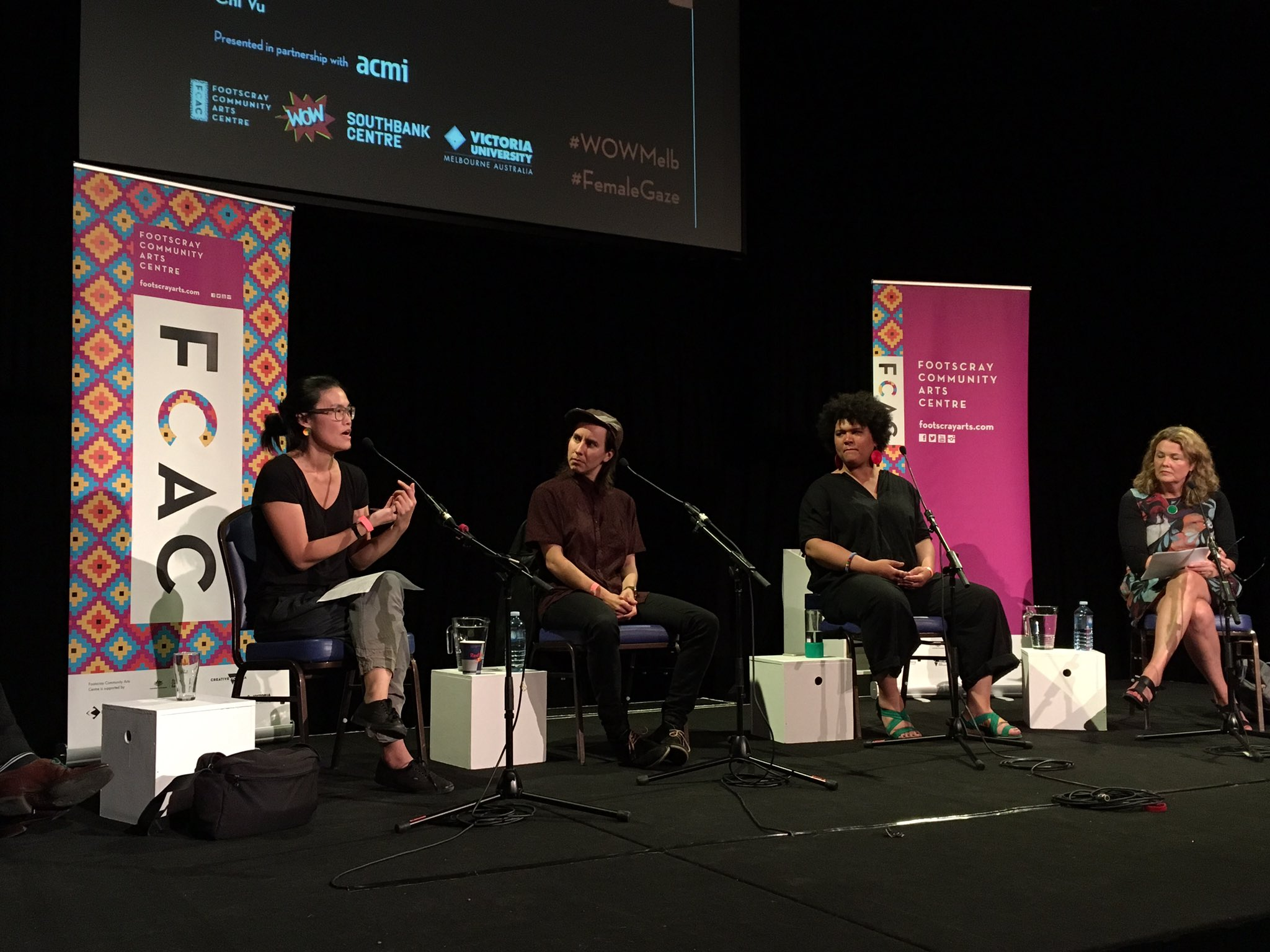 Chi Vu: sympathy that is built around a character is important to building an alternative, unfixed gaze. #femalegaze #wowmelb https://t.co/CxRK9g5adG