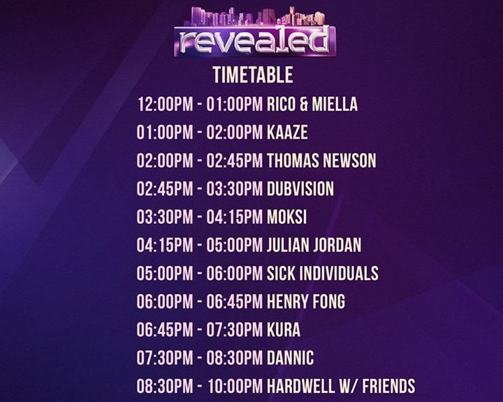 Timetable Revealed!😱👀 Only 12 hours left! Last chance to get your tick...