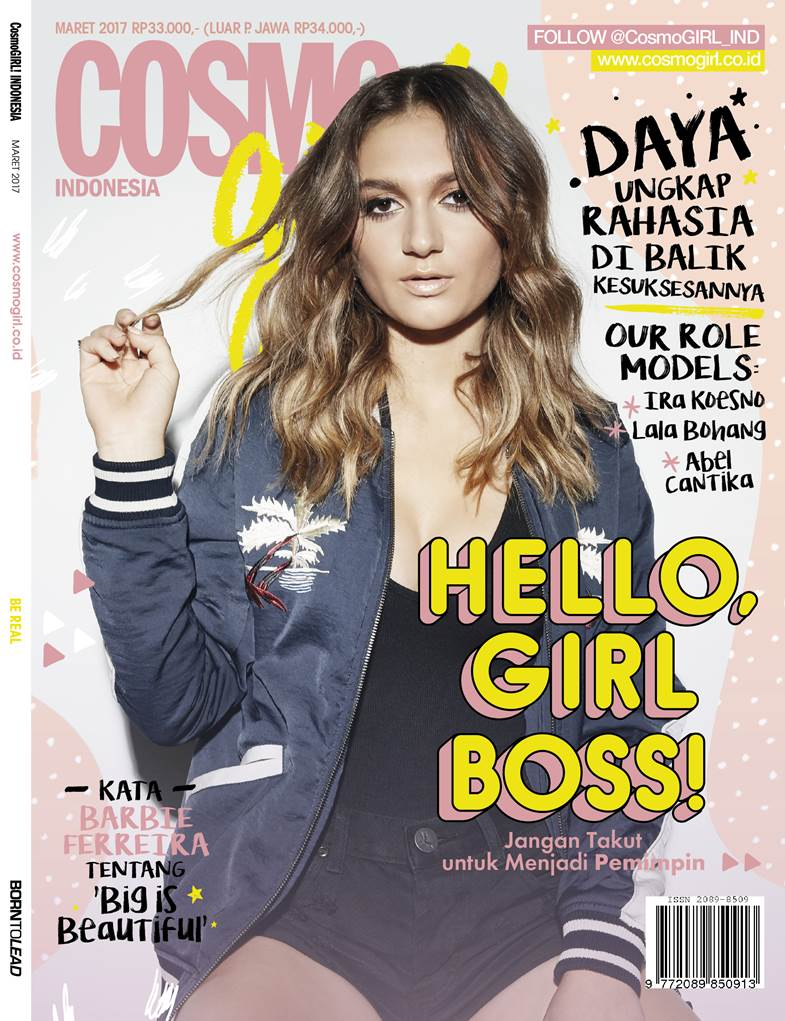 #SonyBuzz Wohoo! @Daya di cover @CosmoGirl_IND edisi Maret 2017. Ayo d...