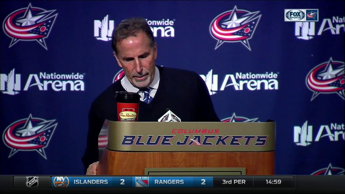 Torts explains where things went awry for the @BlueJacketsNHL after th...