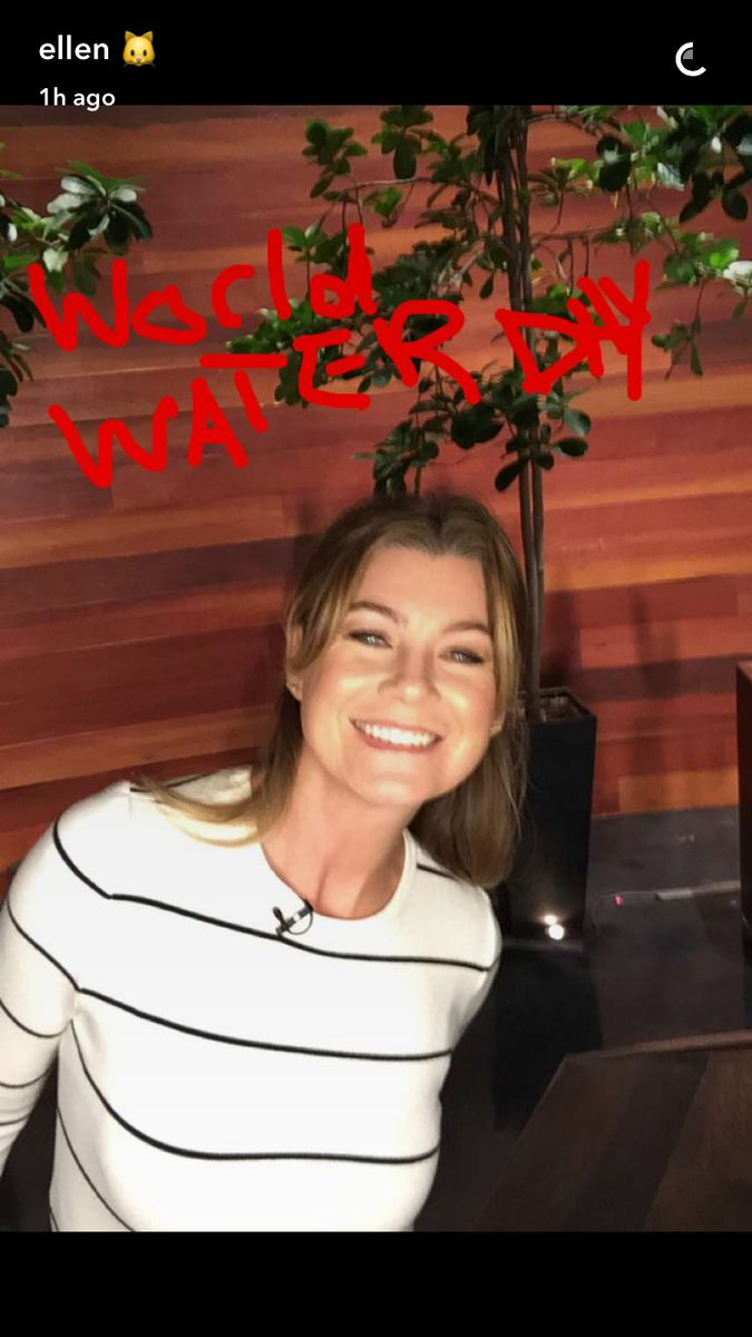 Snapchat Ellen Pompeo