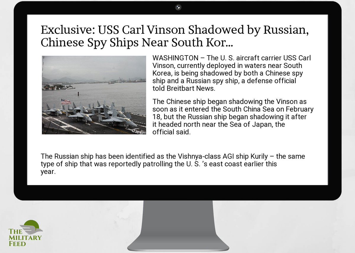 #Defense #News App:  http:// goo.gl/Ggu1EN  &nbsp;   ; exclusive:  #uss  #carl  #vinson  #shadowed by r #ussian,  #chinese  #spy  #s<br>http://pic.twitter.com/h2TSVvWCPH