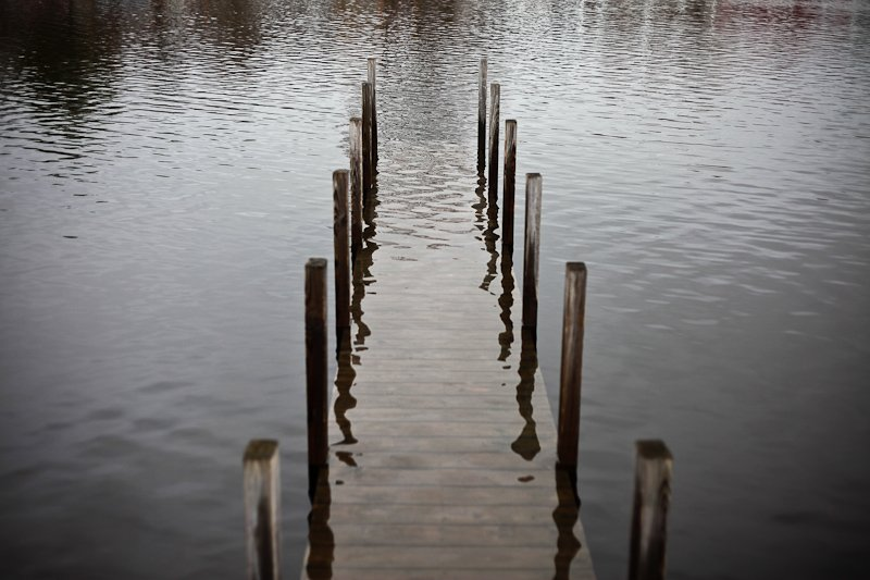 Sitting on the Dock of the Bay, Three Feet Underwater (Thanks, climate...